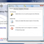 Восстановление удаленных файлов – Auslogics Emergency Recovery