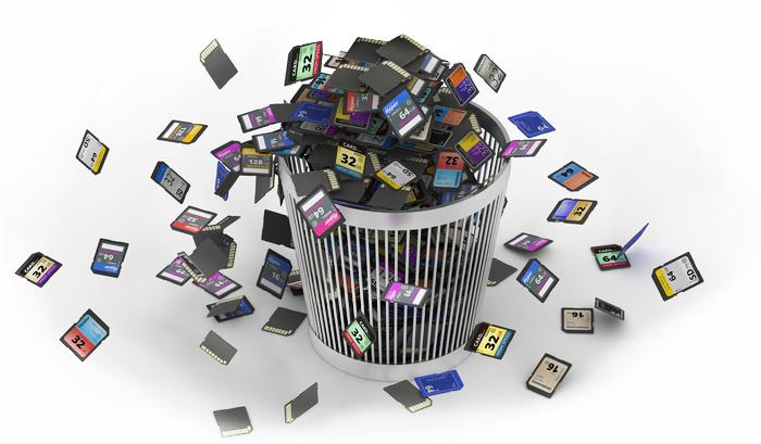 Восстановление данных с SD карты